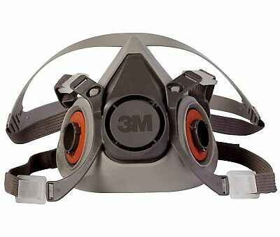 3M 6200 Medium Half Facepiece Reusable Respirator New FREE SHIPPING!