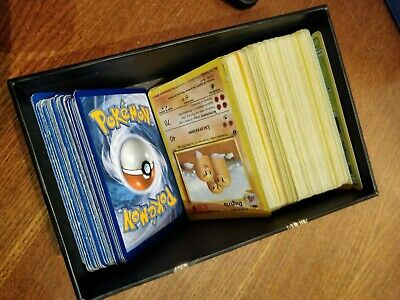 Lotto 160 Carte Pokemon Holo Rare Set Base