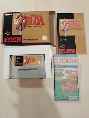 The legend of Zelda A Link to the past complet - FRA - SNES Super Nintendo REPRO