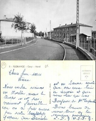 [504497] B/TB      - France  - (57) Moselle, Florange, Oury, Nord, Architectures