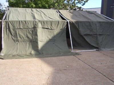 GENUINE Ex British Army 18x24 6ft Long Tent Pole Poles Spare or Replacement