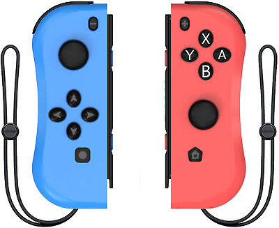 Kinvoca Joy Con Controller  for Nintendo Switch, L/R Joycon Pad with Wrist Strap