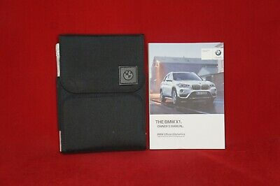 2017 BMW X1 Owner's Manual