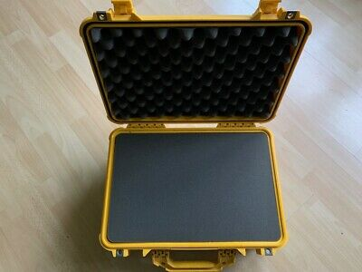 Peli Case 1500, gelb, yellow