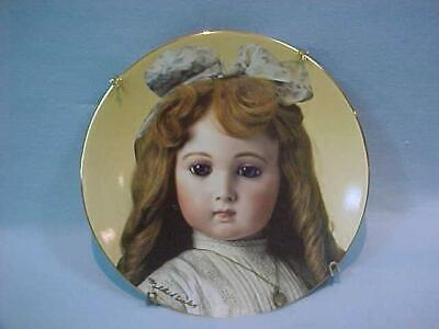 """Vintage French Doll Collector Plate """"Jumeau's Gaynell"""" Mildred Seeley 1983"""