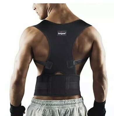 Unigear Back Brace Posture Corrector with Fully Adjustable Straps, (Large)