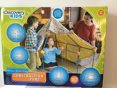 DISCOVERY Kids 72 Piece FORT Construction Set