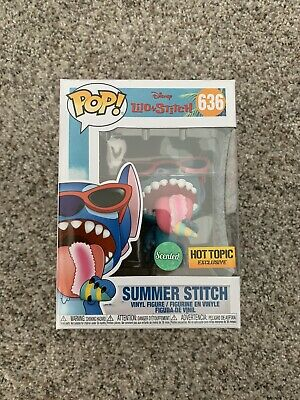 Funko Pop! Lilo & Stitch - SUMMER STITCH #636 (Scented) - Hot Topic Exclusive