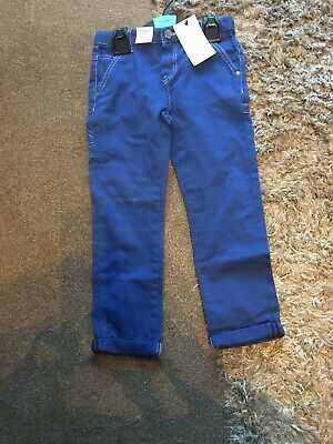 Boys Age 5/6 New Adjustable Waist Jeans By Marks And Spencer