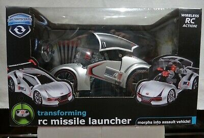 New Black Series Remote Control Vehicle Transforming RC Missile Launcher
