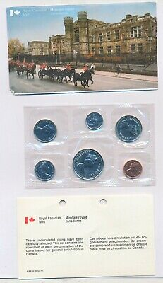 1978 Canada Uncirculated Proof Like Coin Set