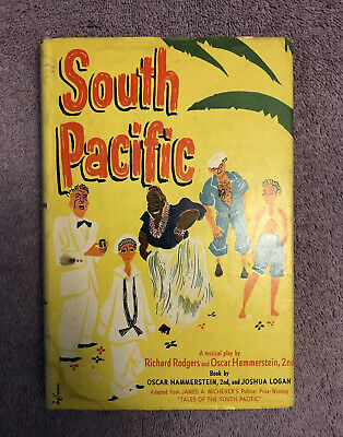 Rodgers & Hammerstein SOUTH PACIFIC - 1st ed. (1949) PHOTOPLAY - RARE in JACKET