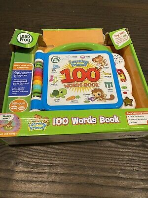 Learning Friends 100 Words Book By Leap Frog FOOD ANIMALS