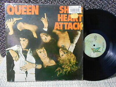 Poster Affiche Queen Freddy Mercury Sheer Hear Attack Cover Rock 80/'s