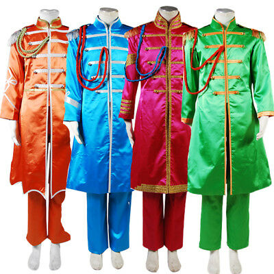 The Beatles Sgt Pepper S Lonely Hearts Club Paul Mccartney Suit Cosplay Costume 59 90 Picclick Uk