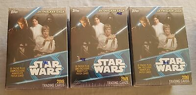 3x Topps Star Wars: Skywalker Saga Box 2019 Blaster