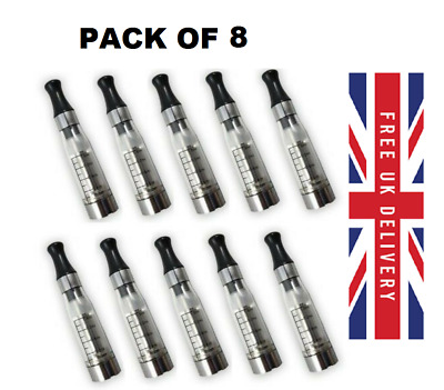 8 Clear CE4 E-Cig Atomizer Clearomizer Atomiser Clearomiser Vape Tanks ego 510
