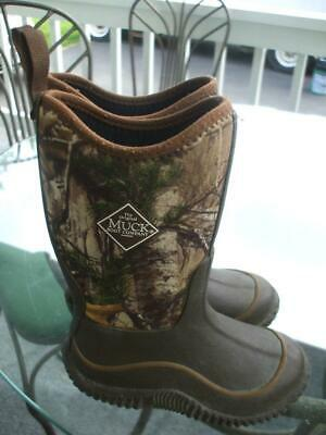 Muck Element Boots Realtree Camo Fleece Lined AUTHENTIC Boys Big Kid Y2 New Box