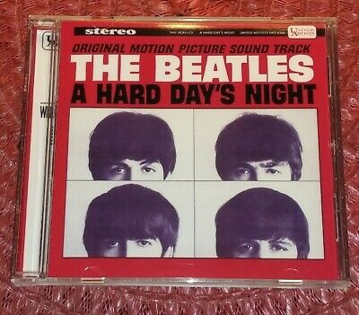 The Beatles A Hard Days Night Original Motion Picture Soundtrack CD! Stereo/Mono