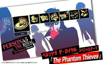 Persona 5 The Royal Original PS4 Theme Download Code DLC School Life Rakuten P5R