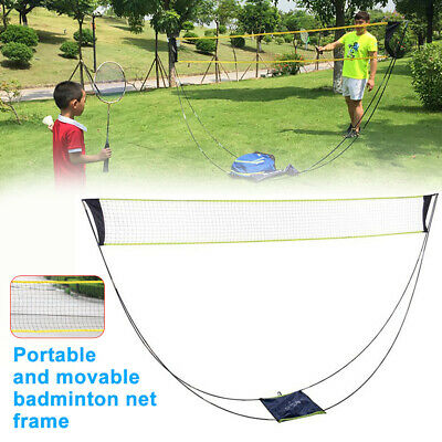 6.2M Portable Large Adjustable Foldable Badminton Mobile Net Tennis Volleyball