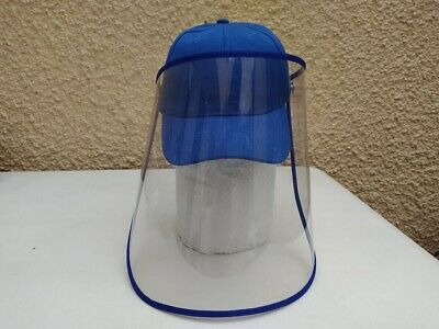 Transparent Anti Saliva Hat Splash Dust Proof Full Face Shield Protection Cover