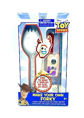Disney Toy Story 4 Make Your Own Forky Figure Craft Set - NEW!!!