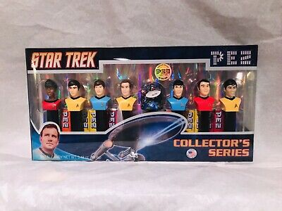 Star Trek Pez Set In Box Collectors Series Unopened