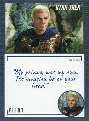 Star Trek TOS Archives /& Inscriptions Base Card #41 Variant 26