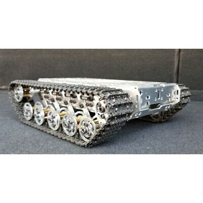 RC Tank Chassis Tracked Vehicle Robot Chassis Shock Absorption Unassembled