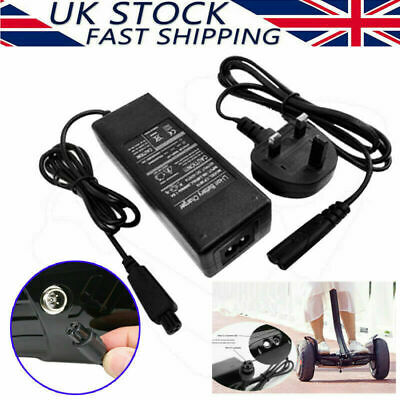 Fast Charger Power Adapter For Swegway//Segway//Hoverboard Balance Board Plug UK