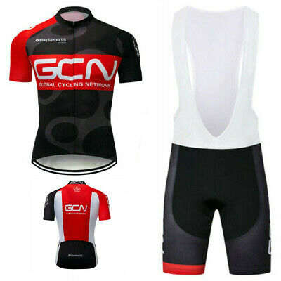MAVIC Herren Rennrad Cycling Jersey Suit FahrradTrikot Gel Lätzchen Shorts Sets