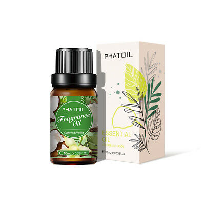 PHATOIL Coconut&Vanilla Essential Oils Pure Organic Essential Oil Fragrances Oil