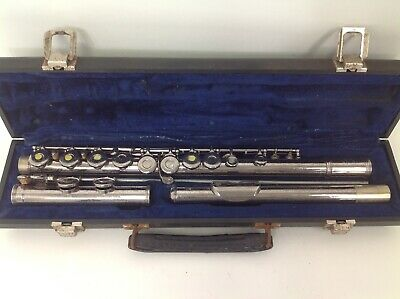Armstrong Flute Vintage Model 104 w/Case Silver