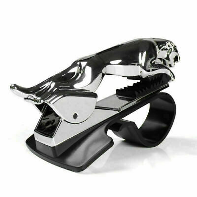 Universal 360° Rotating Car Leopard Phone Clip Holder GPS Stand Bracket