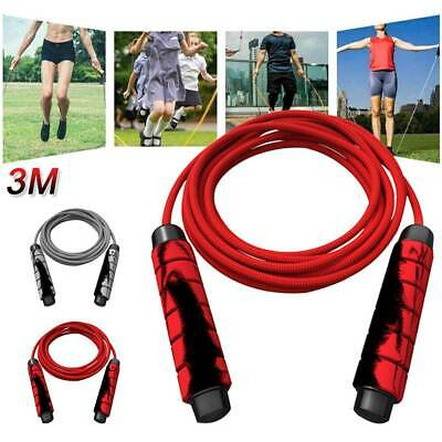 OneX Skipping Rope speed Jump Exercise Gym Fitness Workout 8.9 Strength Nylon