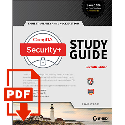 PDF CompTIA Security+ Study Guide Exam SY0-501 7th Edition
