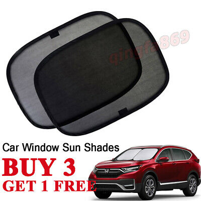 Baby Car Window Shades Black Mesh Blinds Sun Stopper Visor Shield Cover Dog UK