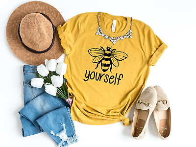 Run /& Fly T-shirt Buzzy Bee All Over Print Women/'s