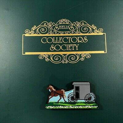 Shelia/'s Collectibles  An Amish Horse And Carriage Shelia/'s ~ Daisy Connection