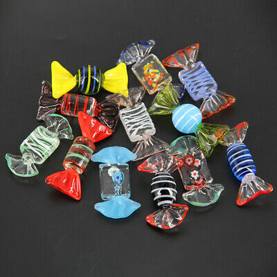 12pcs Murano Glass Sweets Wedding Vintage Xmas Party Candy Decorations Gift
