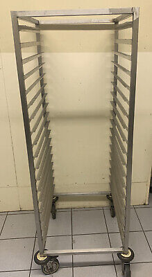 Stainless Steel Commercial Catering 18 Tier Racking Trolley