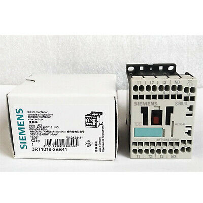 New in box Siemens 3RT1016-2BB42 3-Pole Contactor S00 Coil One year warranty