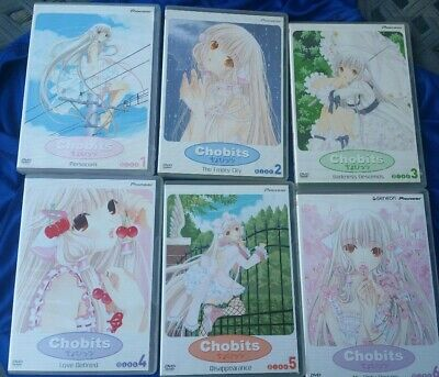 Chobits 1-6 DVD Shoujo Girl Romance Clamp Manga Anime Persocom Empty City +More