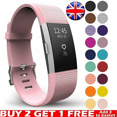 For Fitbit Charge 2 Wrist Strap Wristband Best Replacement Accessory Watch Band*