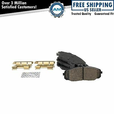 Disc Brake Pad Set Front Centric 105.17300 fits 14-19 Ford Fiesta