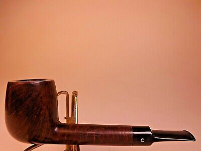 Comoy's Tradition 212 London England Classic Lovat Briar Pipe Rubber Stem w/Logo