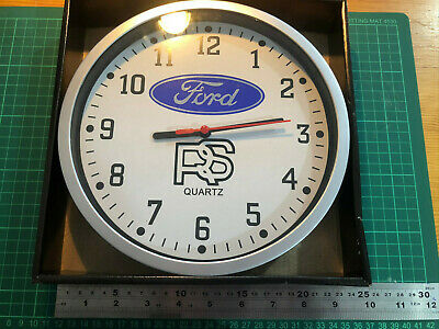 Wall Clock Ford Old Rs Badge Script