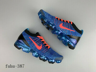 Nike Air VaporMax Flyknit 3 Men's Running Trainers Shoes Sneakers -Blue