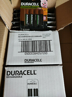 Piles AA DURACELL rechargeables accu Ultra HR6 2500 mAh